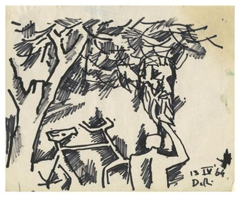 M F Hussain Sketches by Drawing Husain M F Wikiart Org