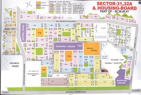 layout plan sector 30 pinjore gurgaon huda sector maps for sectors 27 56 wug