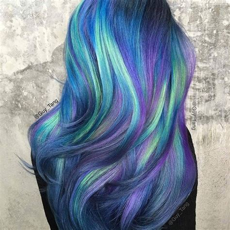blue green hair color 26 best mermaid hair images on mermaid hair