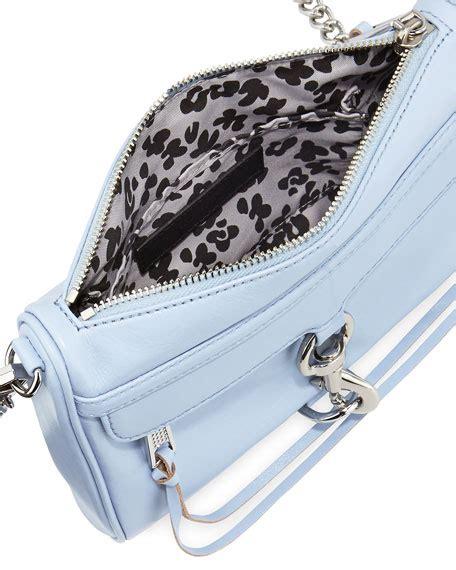 light blue crossbody bag minkoff mini mac crossbody bag light blue