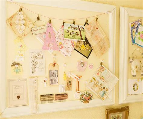 Handmade Bulletin Board - inspiration board cork bulletin boards display ideas