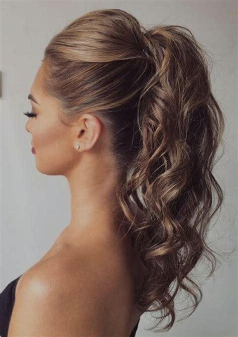 mejores peinados de noche para fiestas elegantes mejor peinados con coleta alta para fiesta 75 increibles