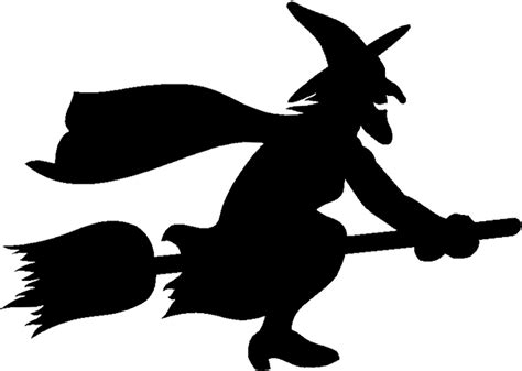 Witch Silhouette Images