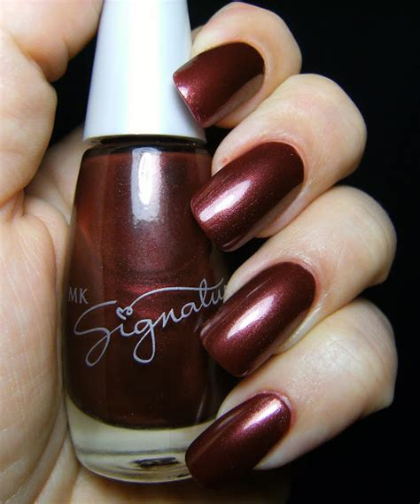 St Sally Maroon I berry rich make nails