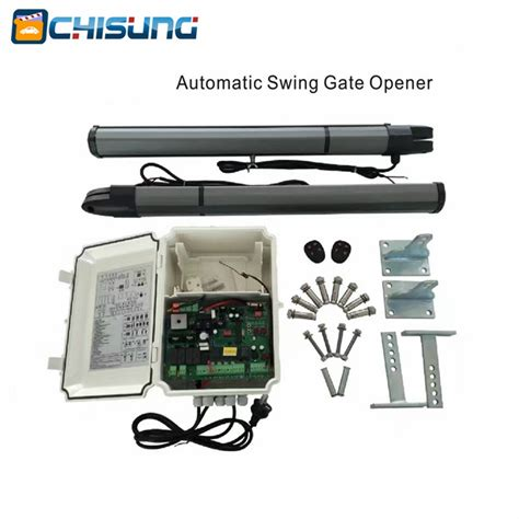 swing gate opener price 03 model complete set of double leaf gate type swing gate