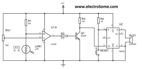 alarm system circuit diagram diagram laser security system circuit diagram simple
