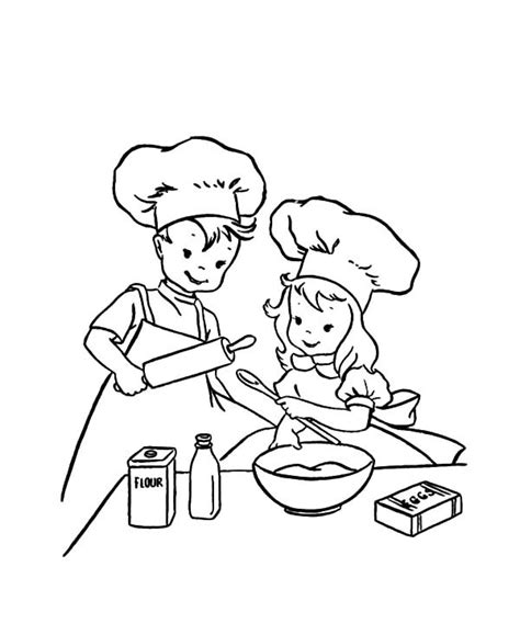 baking coloring pages coloring pages ideas reviews