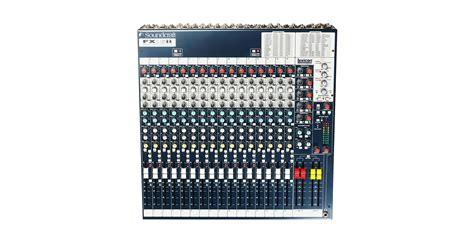 fx16ii soundcraft professional audio mixers