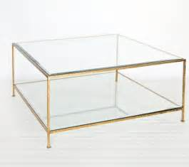 Glass And Gold Coffee Table Worlds Away Square Coffee Table With Beveled Glass Hammered Gold Leaf Traditional Coffee