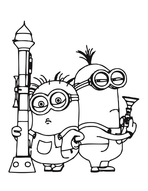 minion rush coloring page download minion rush coloriage 224 imprimer
