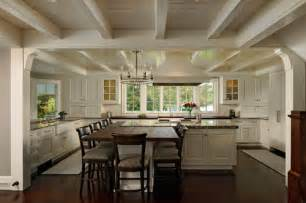 kitchen island with attached table table attached to island yes or no