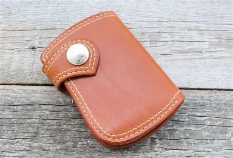 SOXISIX WALLET PM.46/COGNAC : Soxisix?   Highest quality handmade leather belts, wallets