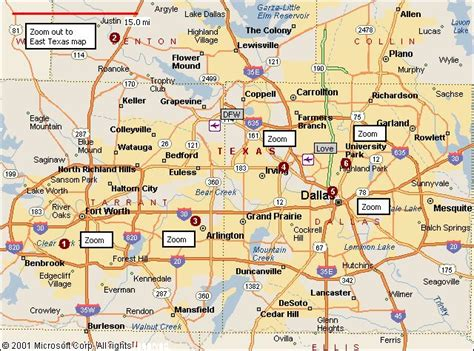 ft texas map map of dallas fort worth travelsmaps map fort worth and forts