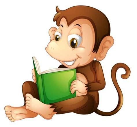 Self Stick Wall Murals monkey reading a book legends wall art