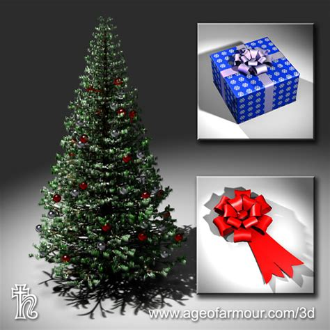 the 40 best free christmas 3d models rockthe3d
