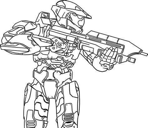 Free Coloring Pages Of Spartans Halo Spartan Coloring Pages
