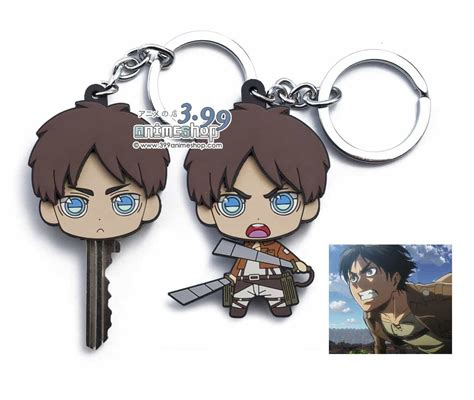 attack on titan for sale attack on titan eren yeager key holder keychain