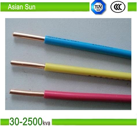 4 electrical wire price high quality pvc insulated electrical wire with