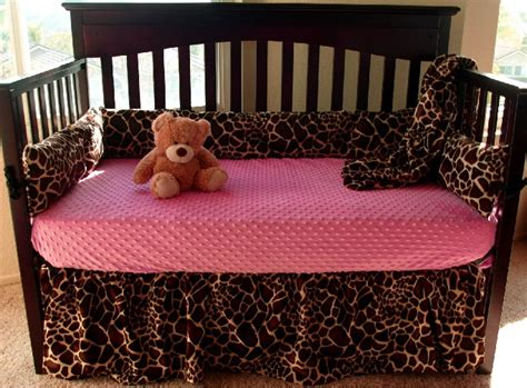 Giraffe Bedding Sets Giraffe Baby Crib Bedding Set