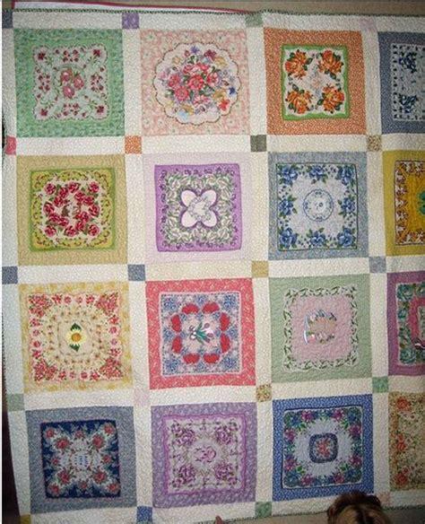 Hankie Quilts by Vintage Hankie Quilts Hankie Quilt Crafts