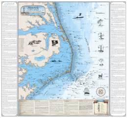 carolina shipwreck map carolina cape hatteras shipwreck chart map