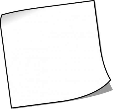 Kertas Cliparts Lamore Design 8pcs leere notizzettel clipart vektor clipart kostenlose vector kostenloser