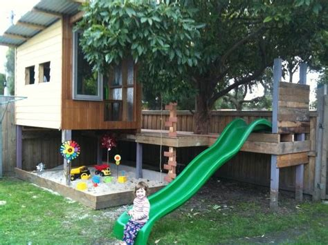 awesome backyards for kids 25 best ideas about kids outdoor playhouses on pinterest