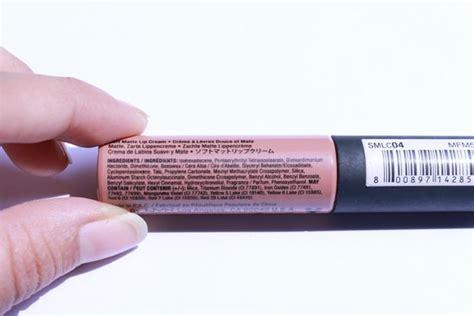 nyx soft matte lip ingredients nyx soft matte lip review