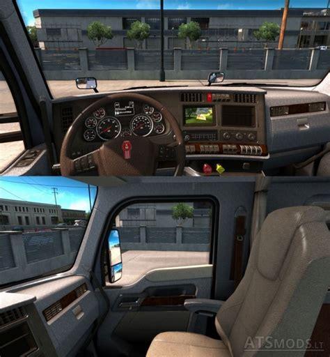 kenworth truck interior kenworth t680 interior truck simulator mods