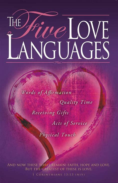 libro the 5 love languages love language quotes quotesgram