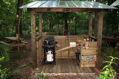 grill shed  bbq shed grill gazebo shed plans