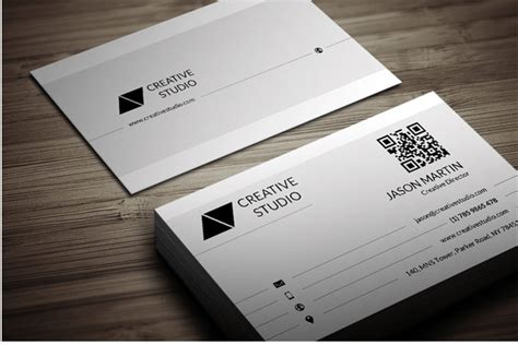 flat rounded business card template psd 30 best business card templates psd design freebie