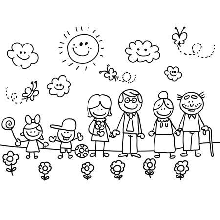 juegos de familia para colorear imprimir y pintar la familia l 225 minas para colorear y regalar a los abuelos