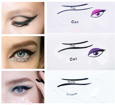 eyeliner template cat eye makeup stencil mugeek vidalondon