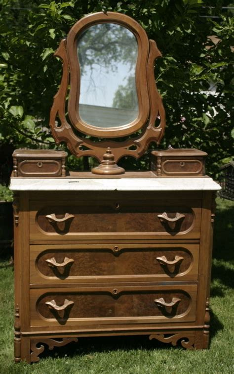 antique victorian dressers with mirrors victorian walnut marble antique burl walnut victorian eastlake dresser marble top