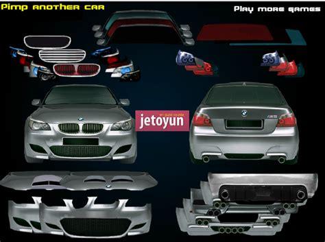 bmw tasarlama oyunu oyna araba oyunlari