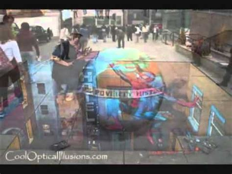 imagenes en 3d en el piso dibujos 3d en el suelo y efectos opticos youtube