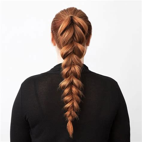 braided hair ends split ends don t belong in a messy pull through braided