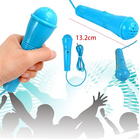 Microphone Mini Earphone 2in1 Karaoke Headset Sing top quality 3 5mm wired cable mini headset mic microphone for mobile phone sing song karaoke