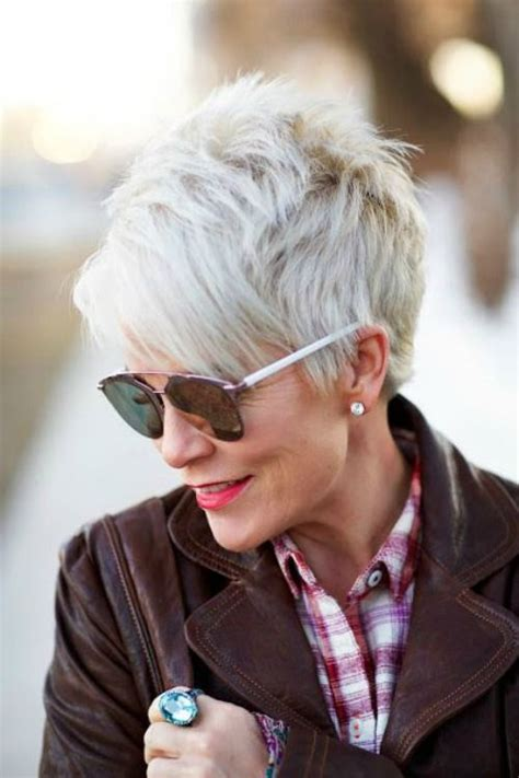 pixie shaggy hairstyles for 50 25 best ideas about over 60 hairstyles on pinterest