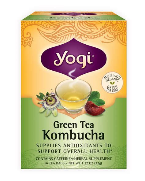 Where To Buy Yogi Detox Tea by Green Tea Kombucha Yogi Tea