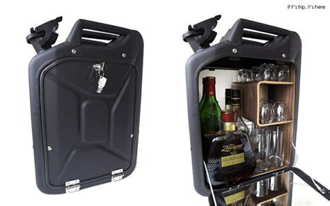 Jerry Can Bar Cabinet Repurposed Jerrycan Bar And Bathroom Cabinets