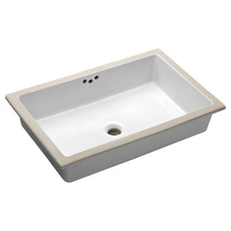 Home Depot Bath Sinks Kohler Kohler Kathryn Vitreous China Undermount Bathroom Sink In