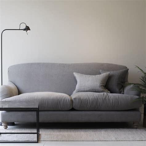 grey three seater sofa harley driftwood grey three seater sofa sofas