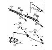 WINDSHIELD WIPER 7808  From 197808 Fits TOYOTA Pickup 1981 1982