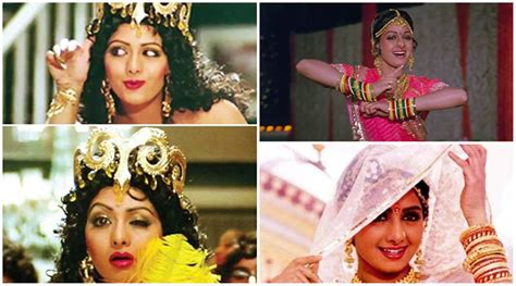 sridevi dance songs top 10 songs of sridevi the indian express