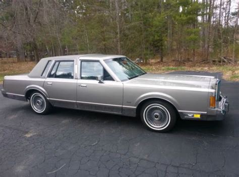 service manual buy car manuals 1989 lincoln town car auto manual 1989 lincoln for sale used