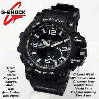 G Shock N 1000 Biru turun harga free box baterai jam tangan pria gshock