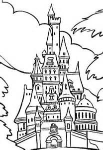 Coloriage Chateau De Mickey