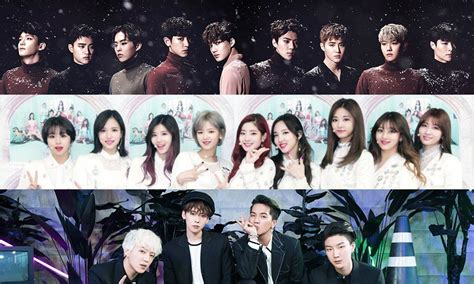 exo and twice exo winner and twice to attend idol star athletics